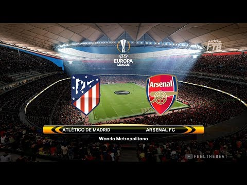 UEFA EUROPA LEAGUE | ATLETICO MADRID vs ARSENAL FC | PES 2018