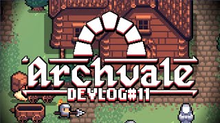 Archvale Devlog #11 - Finalising The Gameplay Loop