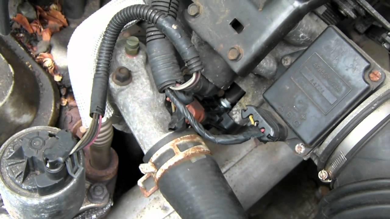 1995 Buick Lesabre Howto change throttle position sensor