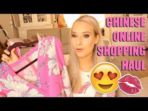 CHINESE ONLINE SHOPPING HAUL