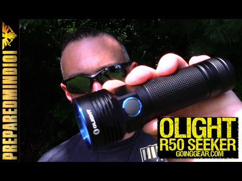 Olight R50 Seeker: 2500 Lumen Pocket Lighthouse - Preparedmind101
