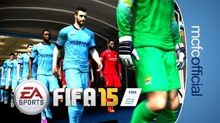 FIFA 15 | Etihad Stadium and New Man City Player Faces
