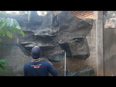 Download Cara membuat relief dinding kolam ikan ukuran 3x2,5 # part1
