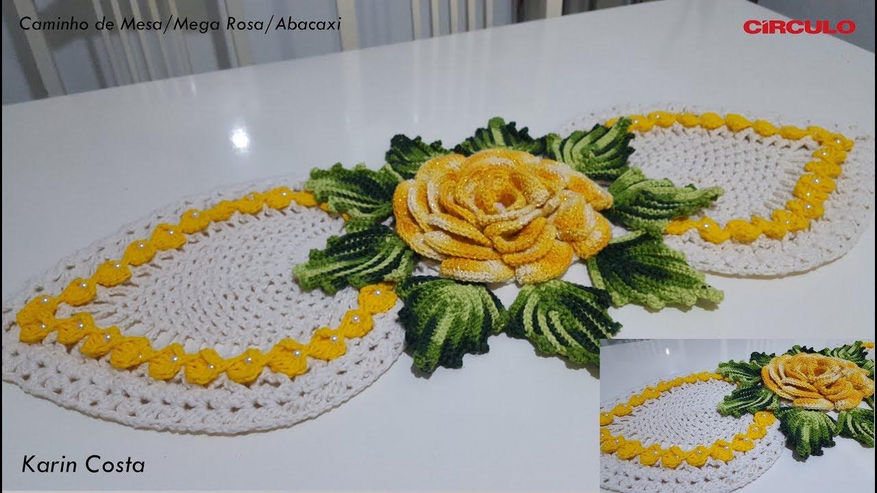 Trilho de mesa abacaxi