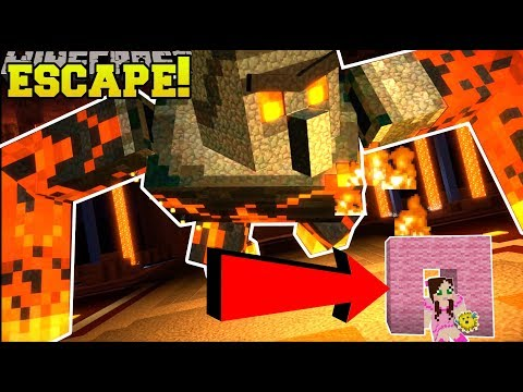 Minecraft: ESCAPE SUPER GOLEM!!! - STORY MODE SEASON 2 - [EPISODE 4] [4]
