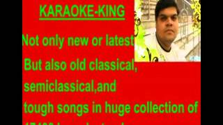 Jalwa mera hi jalwa karaoke -- Wanted.flv