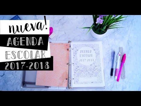 Arma conmigo la Nueva Agenda Escolar 2017-2018 | Julieta Jareda