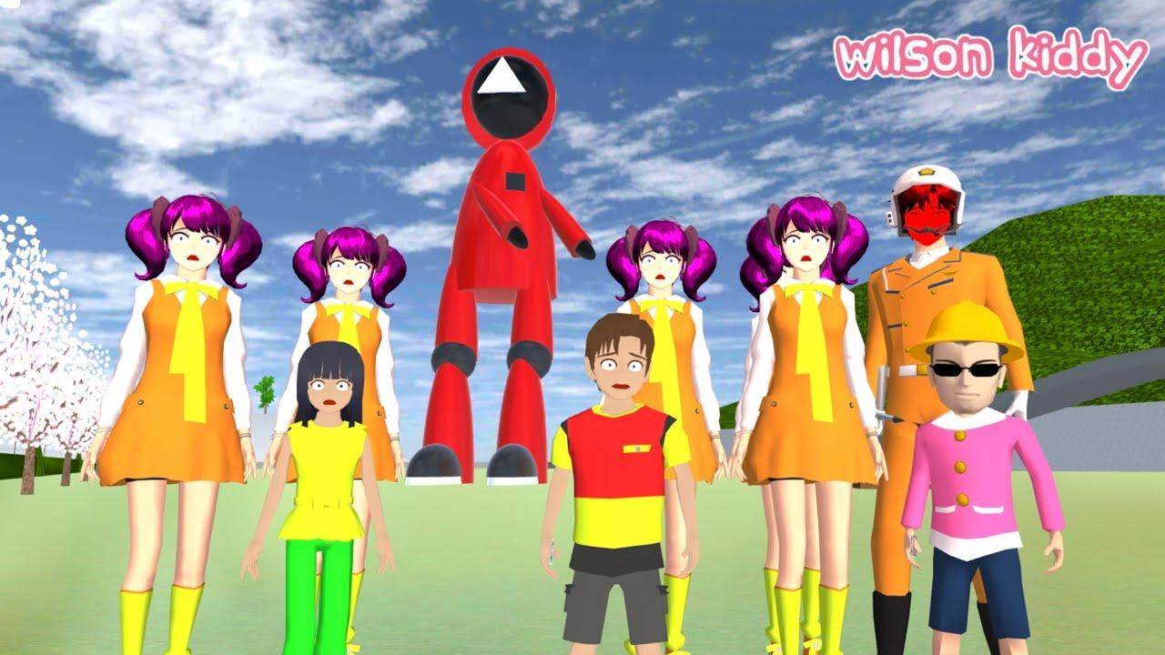 Download Yuta Mio Dikejar B0neka Squid Game 🤣😃 | Sakura Simulator | Game Wilson Kiddy