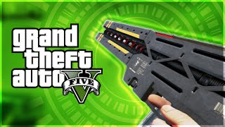 GTA 5 PS4 Gameplay : The EPIC Railgun! How to get it FREE! (Grand Theft Auto: V)