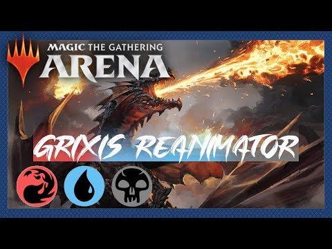Repeat Drakuseth's Resurrection (Grixis Reanimator) | M20