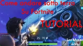 How to go underground on fortnite with royal victory. Fortnite Ita.