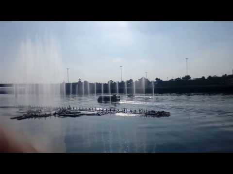 Musical fountain & water bus in Lucknow