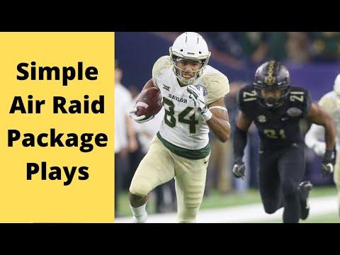 Simple Air Raid Package Plays