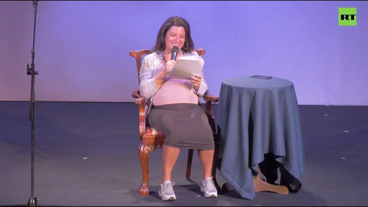 Маргарита Симоньян на Пионерских чтениях - YouTube