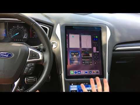 Ford Fusion IPad Pro In Dash Upgrade