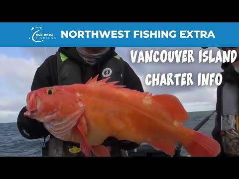 Vancouver Island Bottomfish & Chinook Salmon Fishing Info