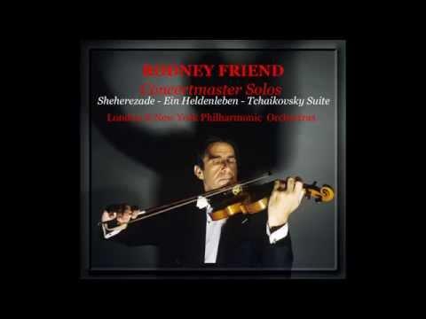 Rodney Friend (Violin) Concertmaster Solos