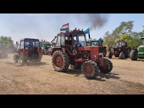Mtz-Belarus 82 tractor pulling (power) 2017 hungary