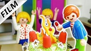 Playmobil Film deutsch | ADVENTSKRANZ BRENNT - Julian fackelt alles ab | Kinderserie Familie Vogel