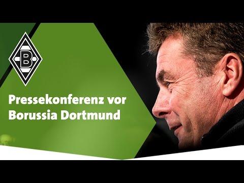 Pressekonferenz vor Dortmund