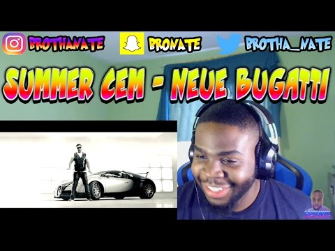 Summer Cem - NEUE BUGATTI [ prod. by JOSHIMIXU ] Official Video REACTION!!