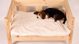 Ліжко для собаки власноруч.