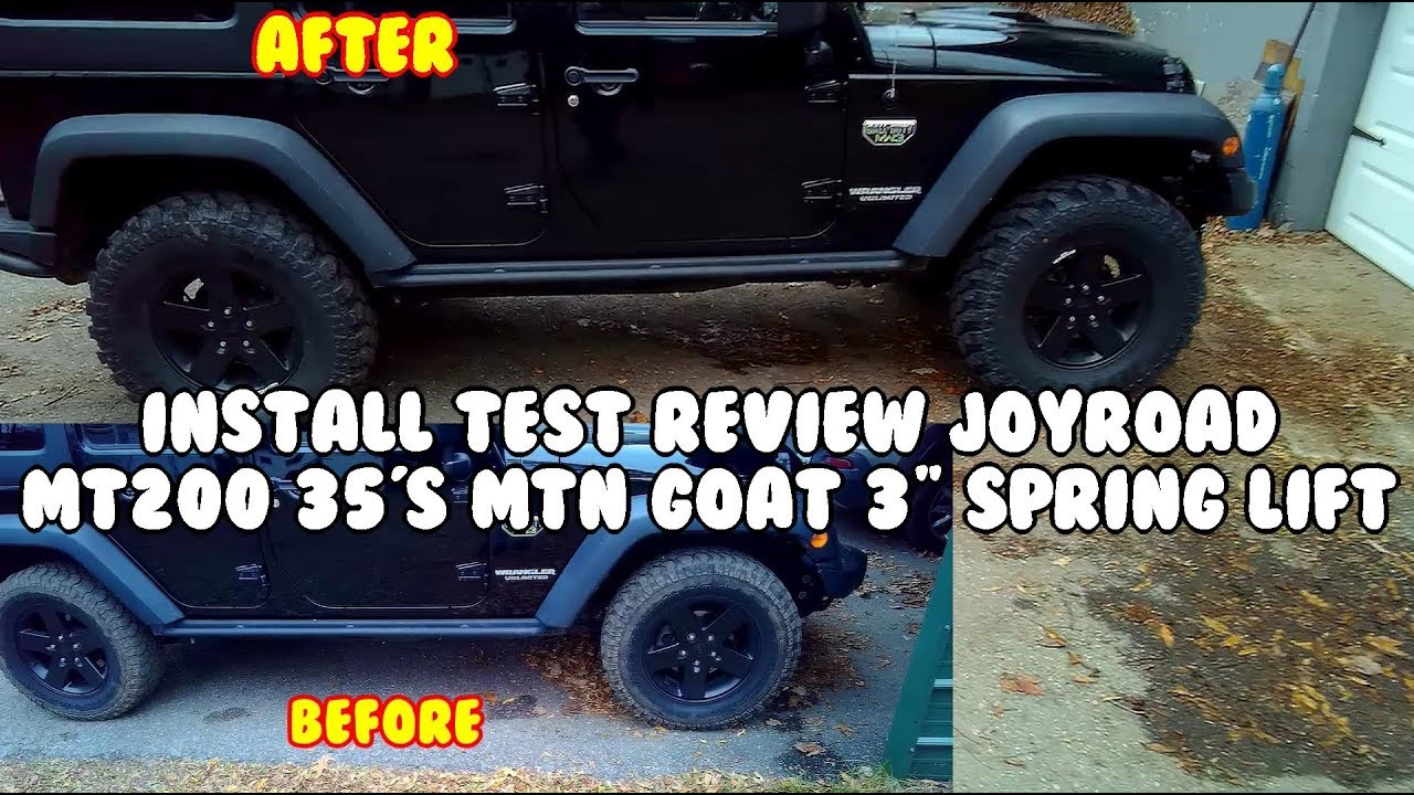Install Test And Review The Mt200 35 Joyroad Tires And 3
