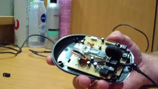 Ремонт кнопок мышки на примере Х7