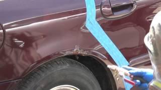 Удаляем ржавчину на авто (пескоструй)