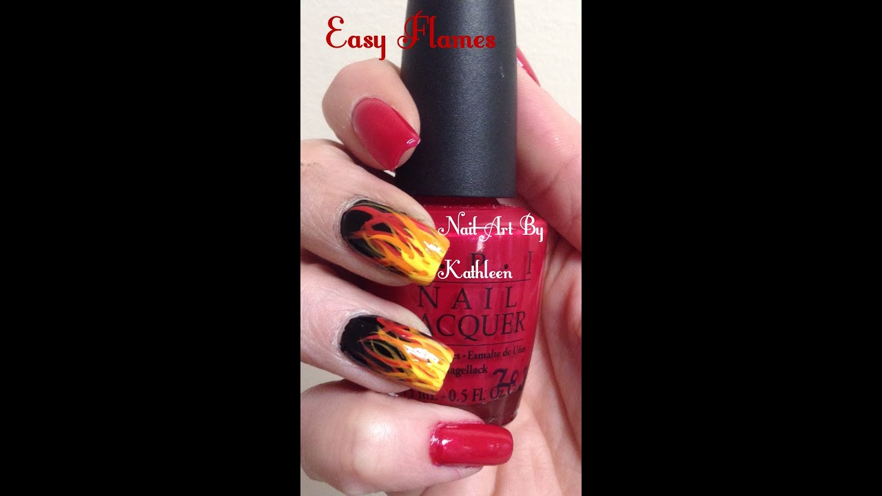 20+ Flame Nail Art Pictures and Ideas on Meta Networks