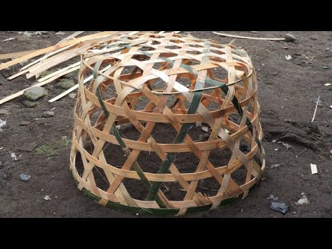 Home Made-Basket from bamboo