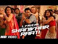 Download Shanivaar Raati Full Song with Lyrics | Main Tera Hero | Arijit Singh | Varun Dhawan, Ileana D'Cruz MP3 song and Music Video