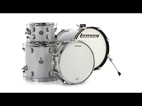 Ludwig Breakbeats 4-piece Shell Pack With Snare Drum Review By Sweetwater