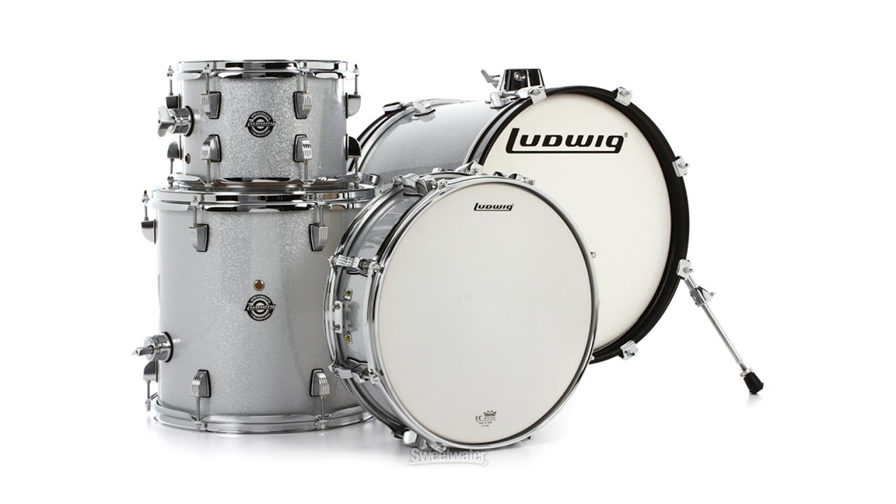 Ludwig Breakbeats 4 Piece Shell Pack With Snare Drum Review By Sweetwater