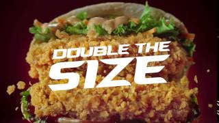 KFC Zinger Double Dare