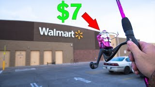 IMPOSSIBLE $20 WALMART FISHING CHALLENGE!!!