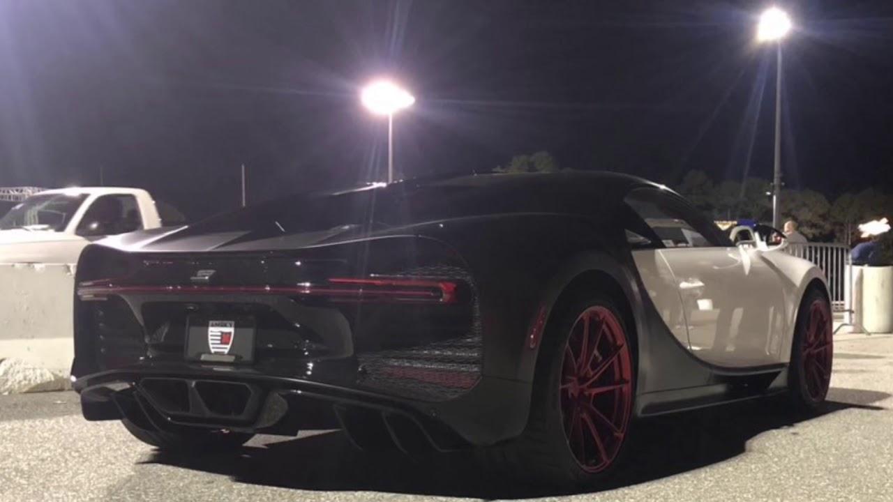 bugatti chiron hits the 1/4 mile - youtube