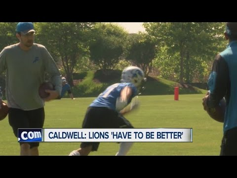 Lions get back to work