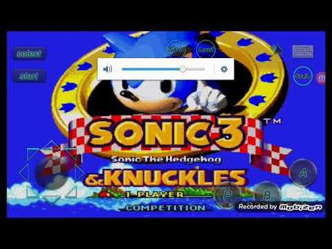Sonic 3 debug mode