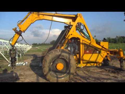 รถเจาะเสาโซล่าฟาร์ม จำนวนหมื่นๆต้น สบายๆ สนใจติดต่อ 081-7210680