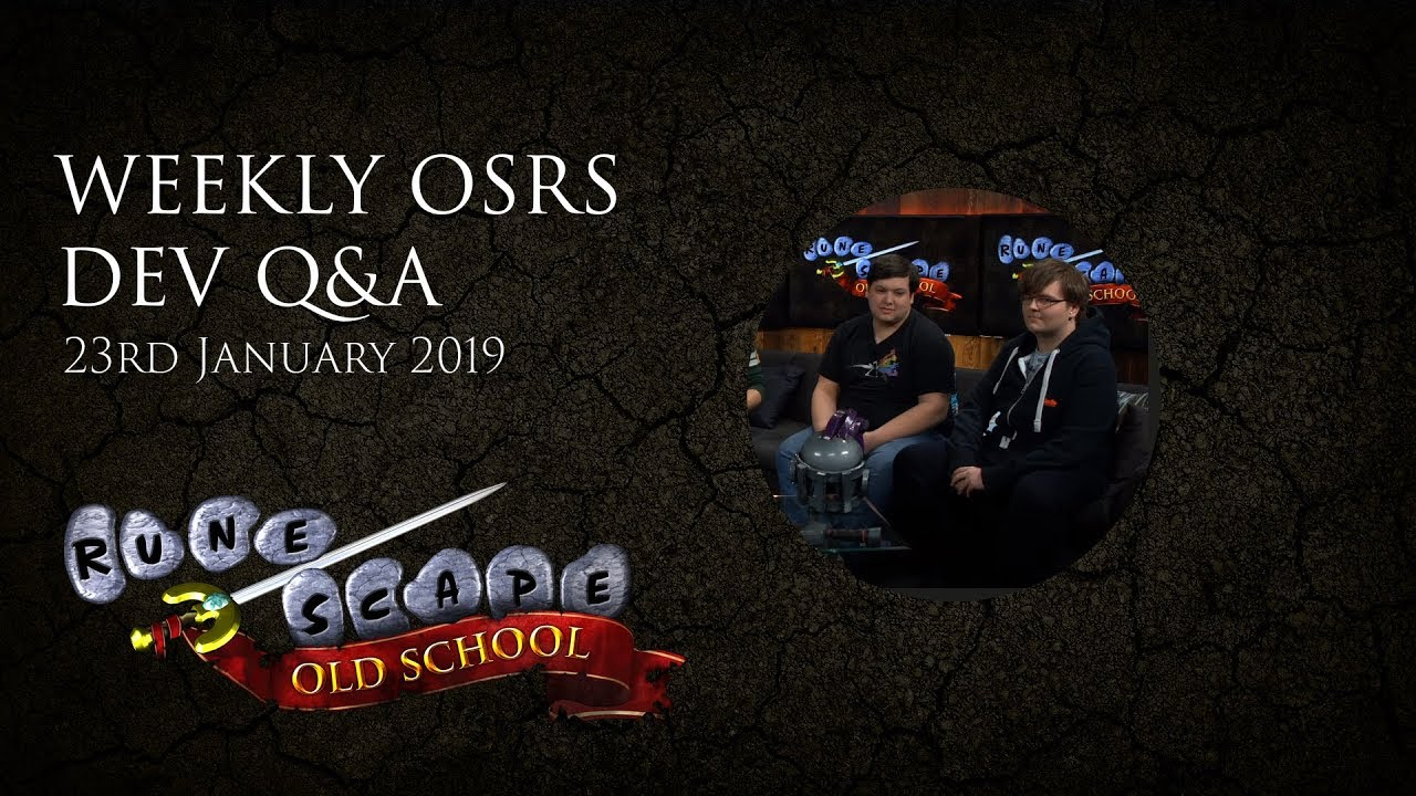 OSRS Q&A - Introducing Mod Tide and your questions answered!