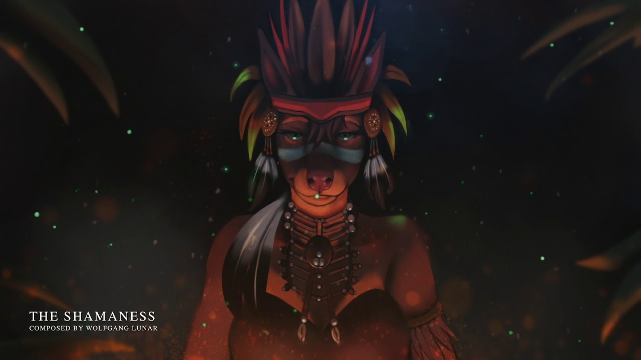 """Download """"The Shamaness"""" by Wolfgang Lunar   Beautiful Female Vocal Tribal Music"""