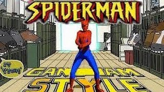 Repeat youtube video Gangnam Style (Official Music Video) Spiderman Edition