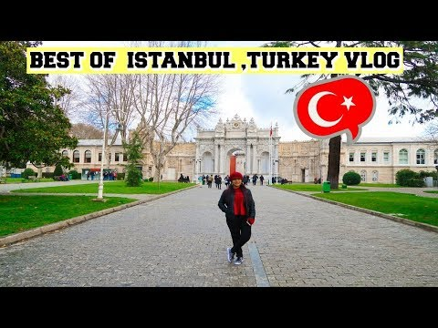 Istanbul TURKEY Vlog -Top Things To Do-Shopping-Night Life In Istanbul | SuperPrincessjo