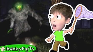 One of HobbyKidsGaming's most viewed videos: Finding Big Foot HobbyPigTV