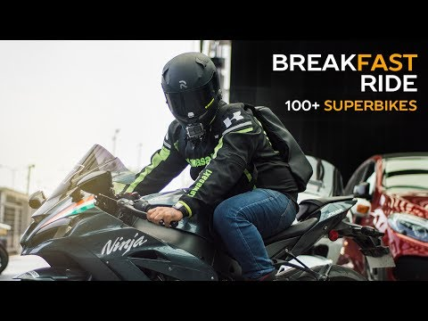 Riding the Loudest SuperBike - Kawasaki Zx10R!