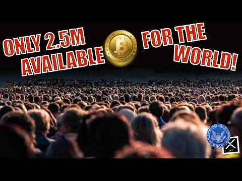 BREAKING NEWS! We're Down To 2.5 MILLION BTC For The WORLD! XRP And SEC Node! +3 Reasons Market 🚀