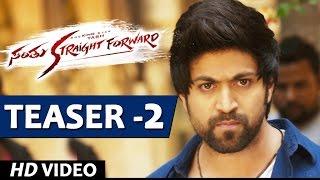 Santhu Straight Forward Video Teaser 2 | Yash, Radhika Pandit | V. Harikrishna | Mahesh Rao