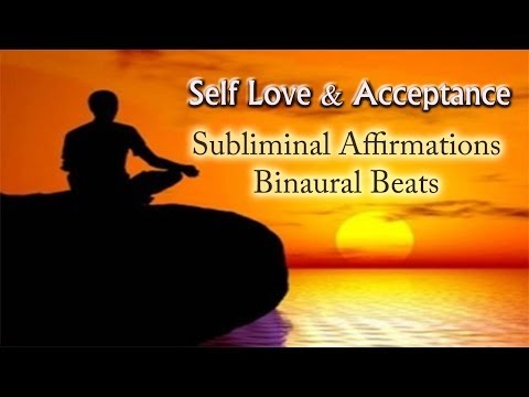 Love and Accept yourself - Binaural & Subliminal  | Self Love Deep Relaxation Music