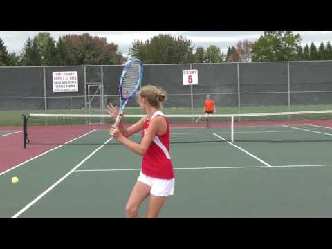 Girls Varsity Tennis VS Rome Free Academy 10/1/2016 (Team Sectional Quarter Finals)